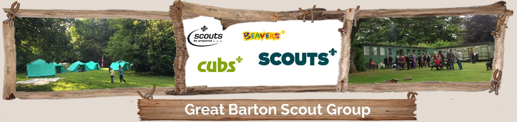 Great Barton Scouts Header